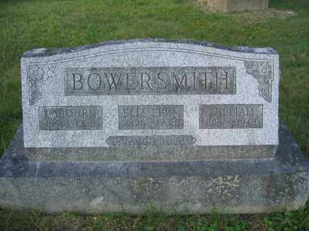 BOWERSMITH, WILLIAM - Union County, Ohio | WILLIAM BOWERSMITH - Ohio Gravestone Photos
