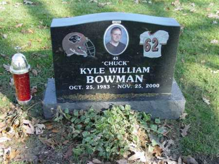 BOWMAN, KYLE WILLIAM - Union County, Ohio | KYLE WILLIAM BOWMAN - Ohio Gravestone Photos