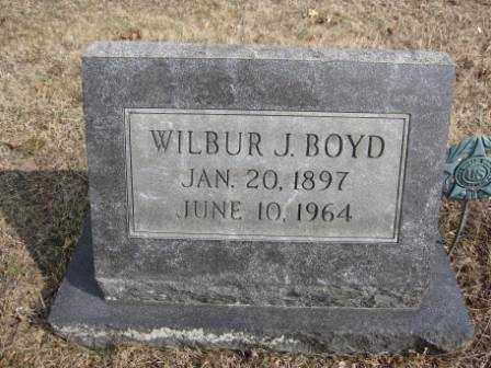 BOYD, WILBUR J. - Union County, Ohio | WILBUR J. BOYD - Ohio Gravestone Photos