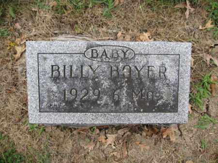 BOYER, BILLY - Union County, Ohio | BILLY BOYER - Ohio Gravestone Photos