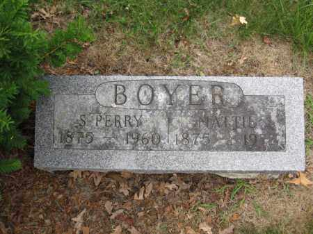 BOYER, S. PERRY - Union County, Ohio | S. PERRY BOYER - Ohio Gravestone Photos