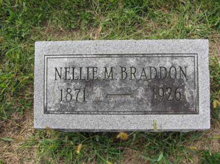 BRADDON, NELLIE M. - Union County, Ohio | NELLIE M. BRADDON - Ohio Gravestone Photos