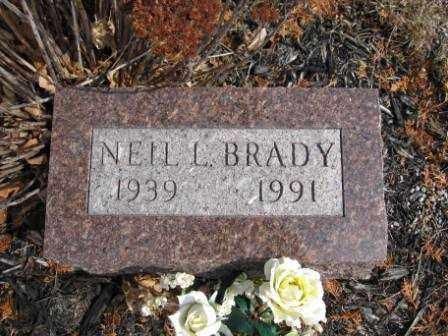 BRADY, NEIL L. - Union County, Ohio | NEIL L. BRADY - Ohio Gravestone Photos