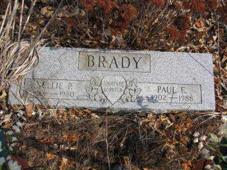 BRADY, NELLIE P. - Union County, Ohio | NELLIE P. BRADY - Ohio Gravestone Photos