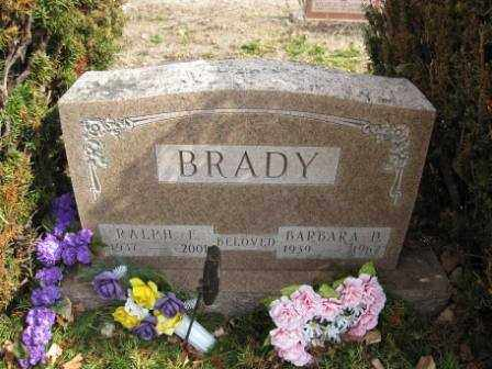 BRADY, BARBARA P. - Union County, Ohio | BARBARA P. BRADY - Ohio Gravestone Photos