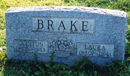 BRAKE, LAURA - Union County, Ohio | LAURA BRAKE - Ohio Gravestone Photos
