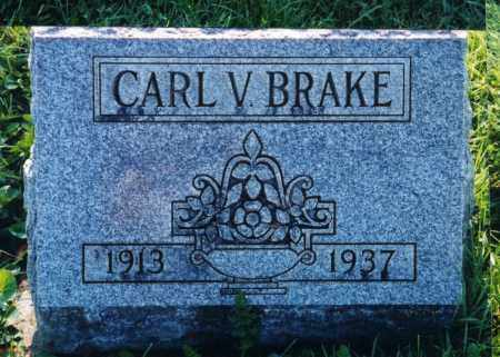 BRAKE, CARL V - Union County, Ohio | CARL V BRAKE - Ohio Gravestone Photos