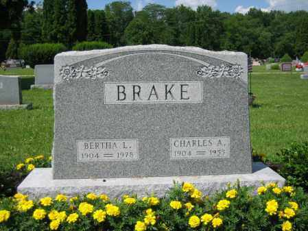 BRAKE, BERTHA L. - Union County, Ohio | BERTHA L. BRAKE - Ohio Gravestone Photos