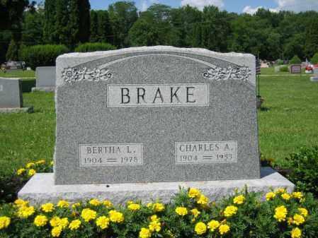 HAGGARD BRAKE, BERTHA L. - Union County, Ohio | BERTHA L. HAGGARD BRAKE - Ohio Gravestone Photos