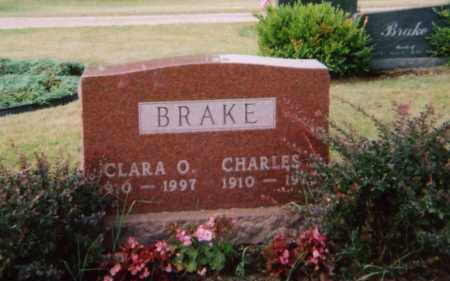 BRAKE, CLARA O, - Union County, Ohio | CLARA O, BRAKE - Ohio Gravestone Photos