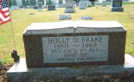 BRAKE, HOLLY O. - Union County, Ohio | HOLLY O. BRAKE - Ohio Gravestone Photos