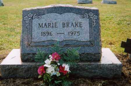 BRAKE, JENNIE MARIE - Union County, Ohio | JENNIE MARIE BRAKE - Ohio Gravestone Photos