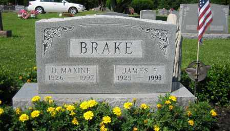 BRAKE, OTTIE MAXINE TAYLOR - Union County, Ohio | OTTIE MAXINE TAYLOR BRAKE - Ohio Gravestone Photos