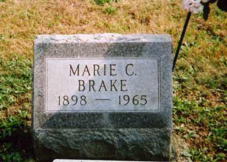 BRAKE, MARIE C. - Union County, Ohio | MARIE C. BRAKE - Ohio Gravestone Photos
