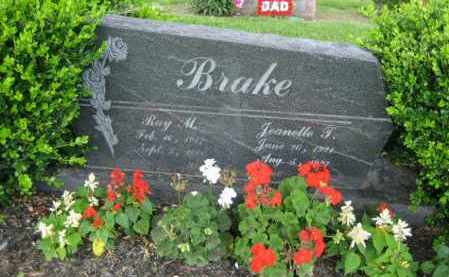 BRAKE, JEANETTE T. TAYLOR - Union County, Ohio | JEANETTE T. TAYLOR BRAKE - Ohio Gravestone Photos
