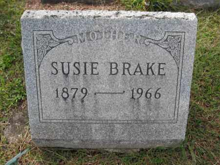 BRAKE, SUSIE - Union County, Ohio | SUSIE BRAKE - Ohio Gravestone Photos