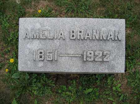 BRANNAN, AMELIA - Union County, Ohio | AMELIA BRANNAN - Ohio Gravestone Photos