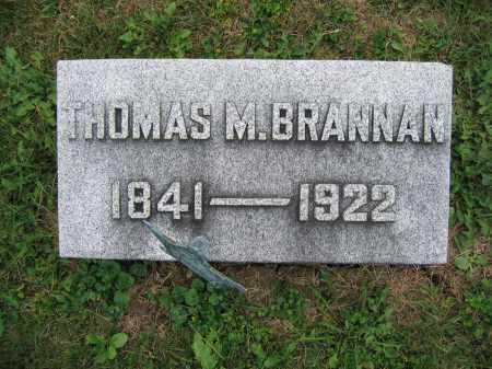BRANNAN, THOMAS M. - Union County, Ohio | THOMAS M. BRANNAN - Ohio Gravestone Photos