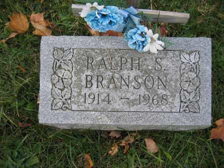 BRANSON, RALPH S. - Union County, Ohio | RALPH S. BRANSON - Ohio Gravestone Photos