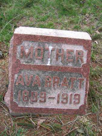 BRATT, AVA - Union County, Ohio | AVA BRATT - Ohio Gravestone Photos