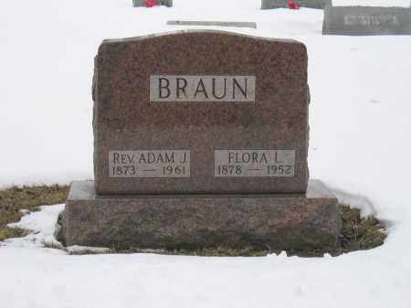 BRAUN, FLORA L. - Union County, Ohio | FLORA L. BRAUN - Ohio Gravestone Photos