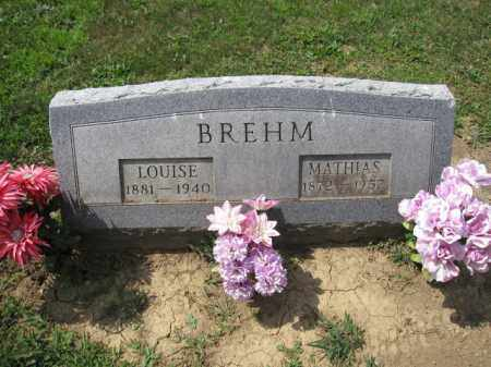 BREHM, LOUISE MARIA - Union County, Ohio | LOUISE MARIA BREHM - Ohio Gravestone Photos