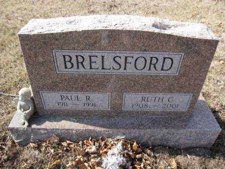 BRELSFORD, PAUL R. - Union County, Ohio | PAUL R. BRELSFORD - Ohio Gravestone Photos