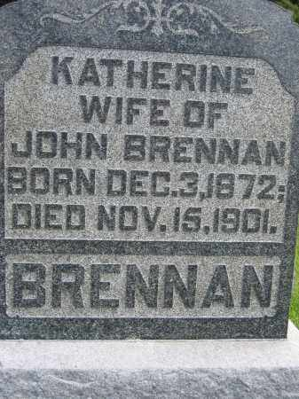 BRENNAN, KATHERINE - Union County, Ohio | KATHERINE BRENNAN - Ohio Gravestone Photos