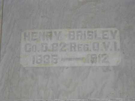 BRISLEY, HENRY - Union County, Ohio | HENRY BRISLEY - Ohio Gravestone Photos