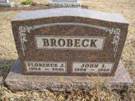 BROBECK, JOHN I. - Union County, Ohio | JOHN I. BROBECK - Ohio Gravestone Photos