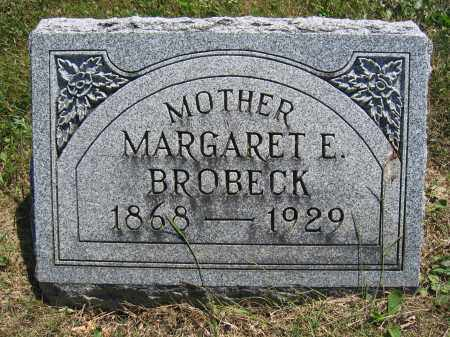 BROBECK, MARGARET E. - Union County, Ohio | MARGARET E. BROBECK - Ohio Gravestone Photos