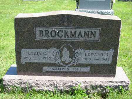 BROCKMANN, EDWARD H. - Union County, Ohio | EDWARD H. BROCKMANN - Ohio Gravestone Photos
