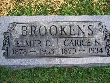 BROOKENS, ELMER O. - Union County, Ohio | ELMER O. BROOKENS - Ohio Gravestone Photos