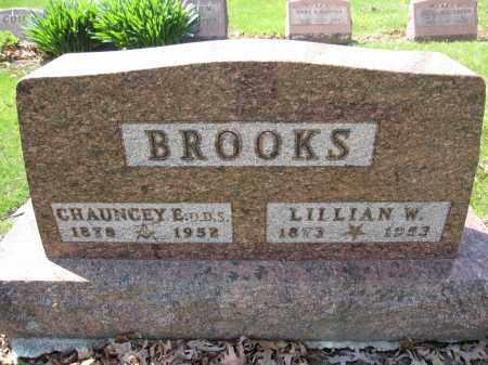 BROOKS, CHAUNCEY E. - Union County, Ohio | CHAUNCEY E. BROOKS - Ohio Gravestone Photos