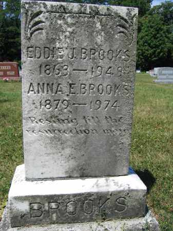 BROOKS, EDDIE J. - Union County, Ohio | EDDIE J. BROOKS - Ohio Gravestone Photos