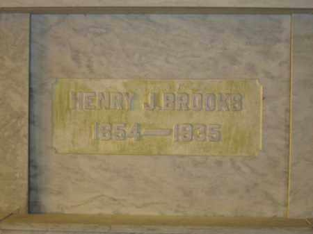 BROOKS, HENRY J. - Union County, Ohio | HENRY J. BROOKS - Ohio Gravestone Photos
