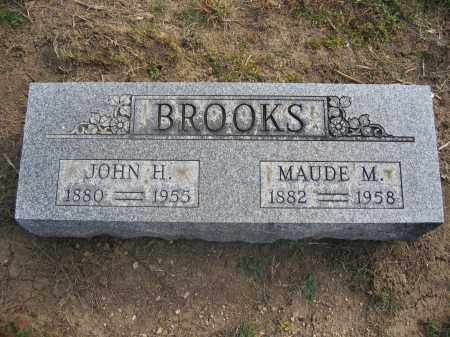 BROOKS, JOHN H. - Union County, Ohio | JOHN H. BROOKS - Ohio Gravestone Photos
