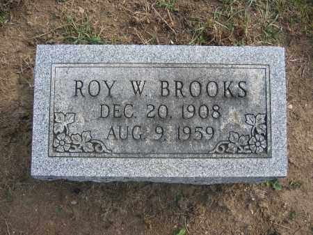 BROOKS, ROY W. - Union County, Ohio | ROY W. BROOKS - Ohio Gravestone Photos