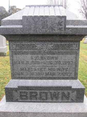 BROWN, MARGARET - Union County, Ohio | MARGARET BROWN - Ohio Gravestone Photos