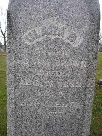 BROWN, CLARA B. - Union County, Ohio | CLARA B. BROWN - Ohio Gravestone Photos