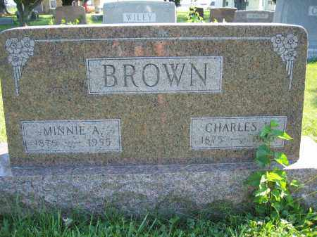 BROWN, MINNIE A. - Union County, Ohio | MINNIE A. BROWN - Ohio Gravestone Photos