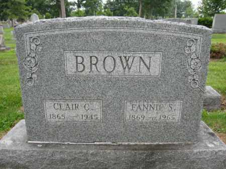 BROWN, CLAIR CRISMAN - Union County, Ohio | CLAIR CRISMAN BROWN - Ohio Gravestone Photos