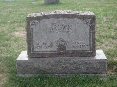 BROWN, ELMER - Union County, Ohio | ELMER BROWN - Ohio Gravestone Photos
