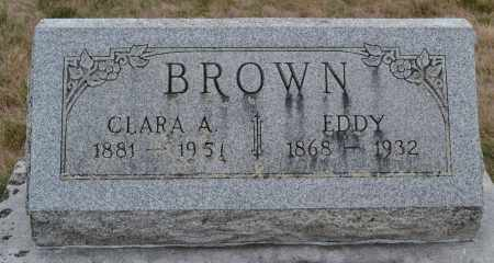 BROWN, CLARA A. - Union County, Ohio | CLARA A. BROWN - Ohio Gravestone Photos
