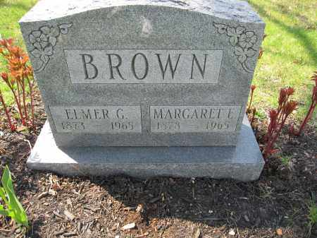 BROWN, GEORGE ELMER - Union County, Ohio | GEORGE ELMER BROWN - Ohio Gravestone Photos