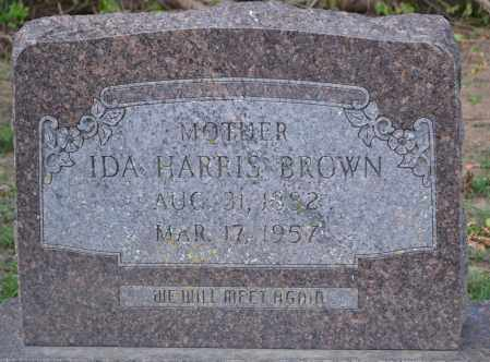 BROWN, IDA HARRIS - Union County, Ohio | IDA HARRIS BROWN - Ohio Gravestone Photos