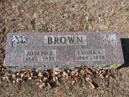 BROWN, JOSEPH E. - Union County, Ohio | JOSEPH E. BROWN - Ohio Gravestone Photos