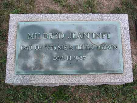 BROWN, MILDRED JEAN - Union County, Ohio | MILDRED JEAN BROWN - Ohio Gravestone Photos