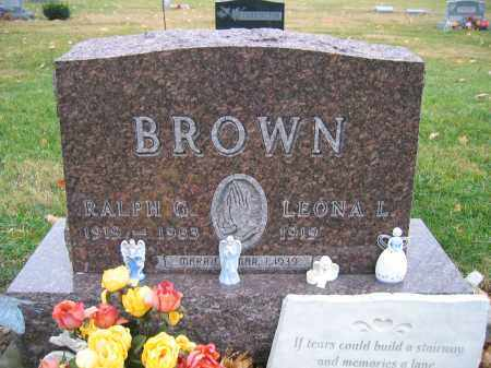 BROWN, LEONA L. - Union County, Ohio | LEONA L. BROWN - Ohio Gravestone Photos