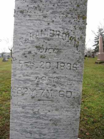 BROWN, SARAH - Union County, Ohio | SARAH BROWN - Ohio Gravestone Photos